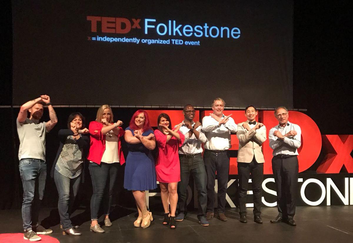 TEDxFolkestone speakers 2018