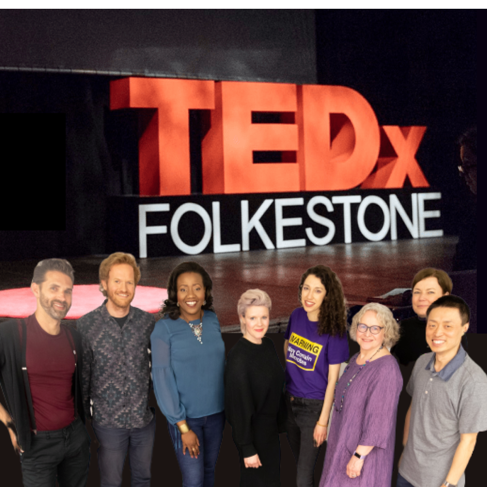 Group shot - TEDxFolkestone 2019 speakers